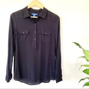 Old Navy 1/2 placket button front